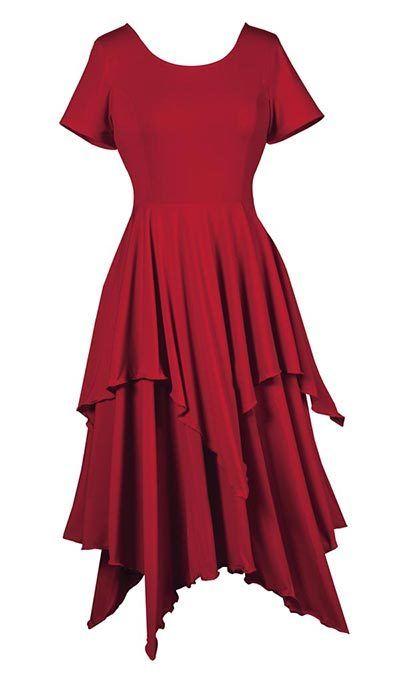 Full & Flowy Layers Dress