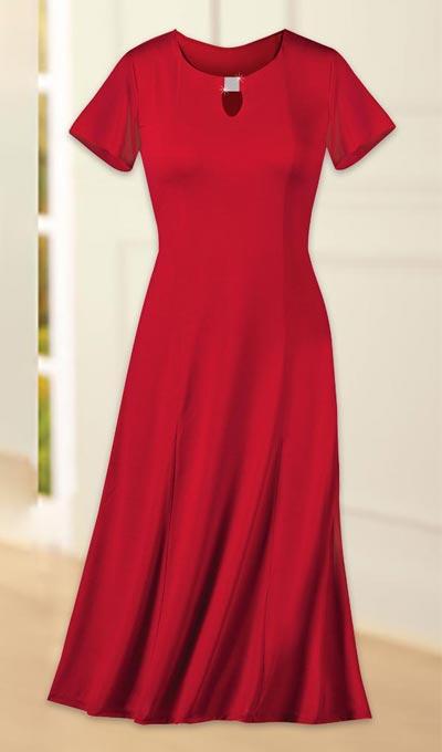 Keyhole Knit Dress