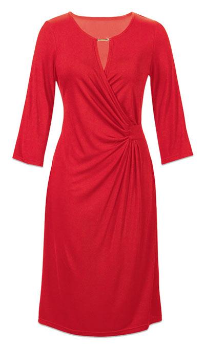Classic Red Dress