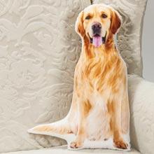 Dog-Shaped Pillow