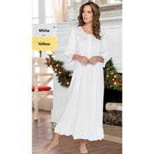Smocked Rosebud Nightgown
