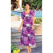 Tropical Georgette Dress
