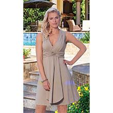 Flirty Rosette Dress