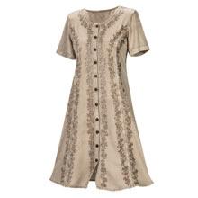 Stylish Acid-Washed Dress