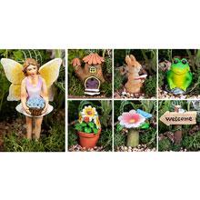 Welcome Fairy Garden Set
