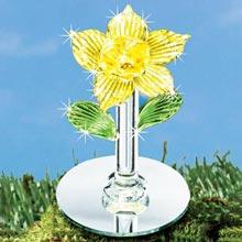 Blown Glass Mini Flowers
