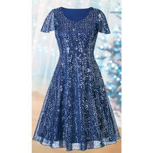 Sequined Party Dress