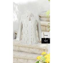 Elegant Beaded Blouse Set