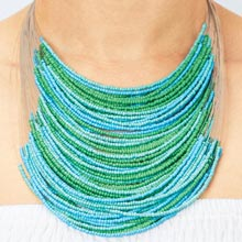 Caribbean Waterfall Necklace