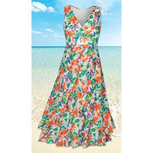 Whispering Watercolour Dress