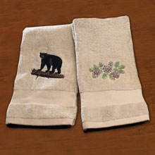 Wildlife Embroidered Towels