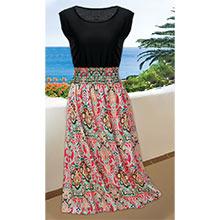 Flattering Ruched Waist Dress