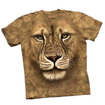 Lion Warrior Attitude Adult Tee