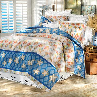 Starfish Fleece Blankets & Accessories