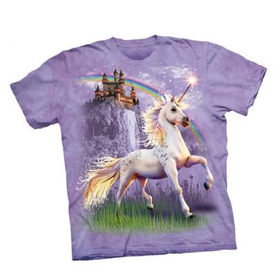 Unicorn Castle Sweet Adult Tee