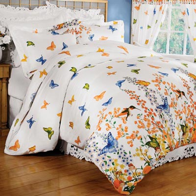 Butterfly Dreams Duvet Set & Accessories