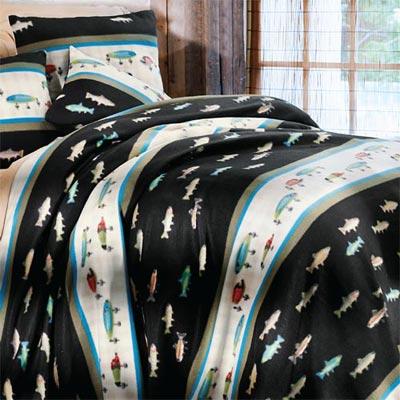 Fisherman's Dream Fleece Blanket & Accessories