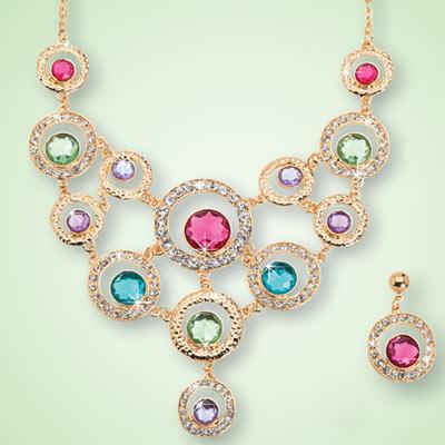 Pastel Brilliance Jewelry Set