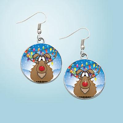 Reindeer Games Earrings