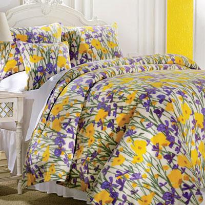Wildflower Meadow Fleece Blankets