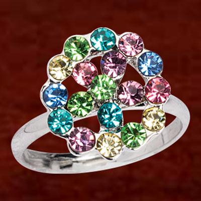 Brilliant Rainbow Ring