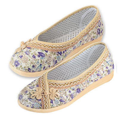 Floral Garden Slip-on Shoes