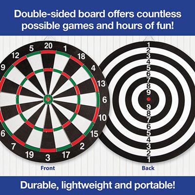 Dart Board W/6 Darts