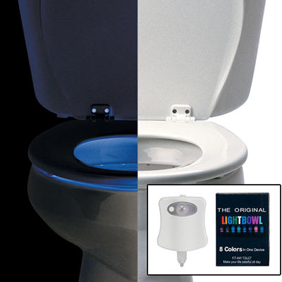 Color Changing Toilet Light