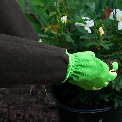 Pruning Gardening Gloves - Green - Large