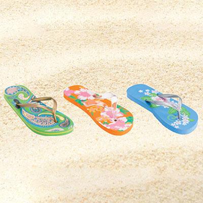 Lagoon Festive Flip Flops