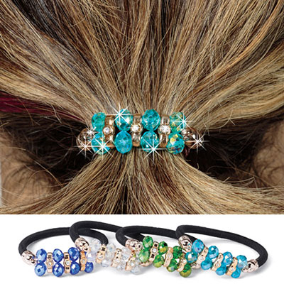 Magnificent Gems Ponytail Holder