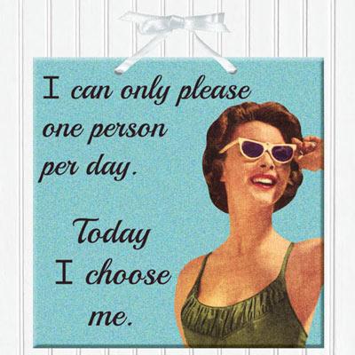 Pleasing People Plaque