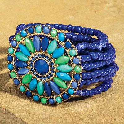 Côte d'Azur Medallion Bracelet