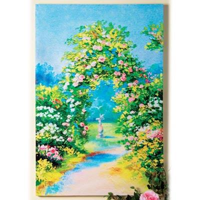 Rose Garden Canvas Print