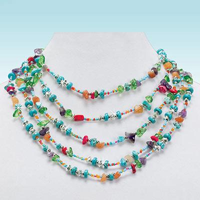Artisan Chip Necklace