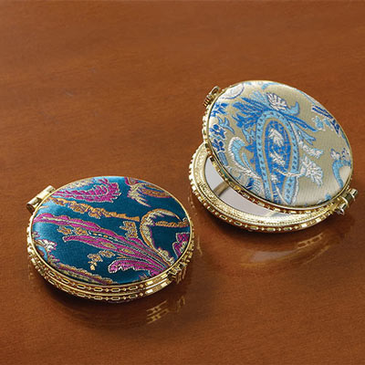 Brocade Double Compacts-S/2
