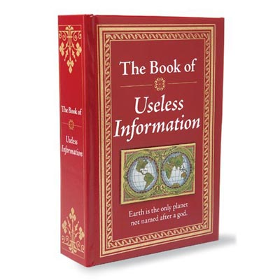 The Book of Useless Information