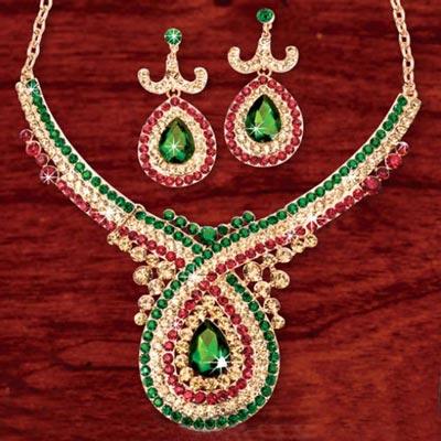 Royal Twist Jewelry Set