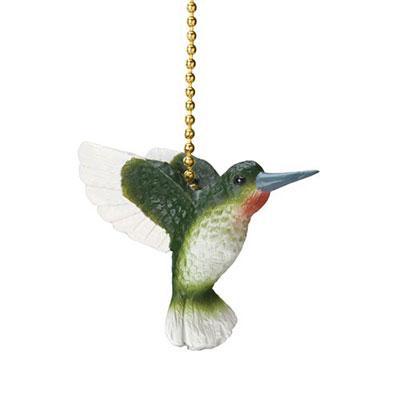 Hummingbird Fan Pull