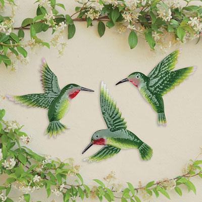 Hummingbird Garden Art