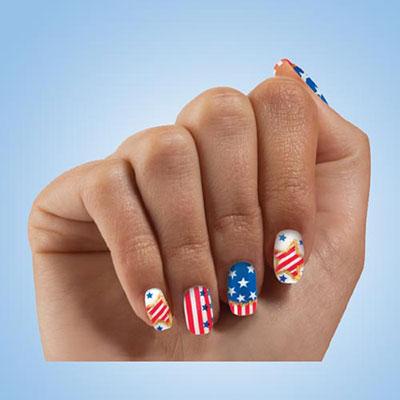 Americana Nails