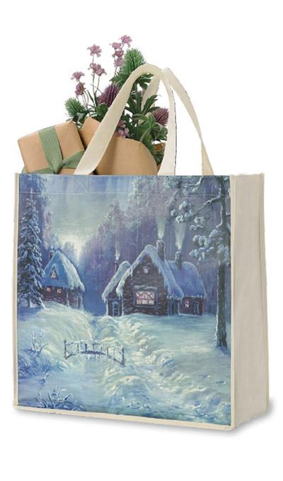 Christmas Village Tote