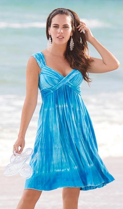 Sea Breeze Swing Dress