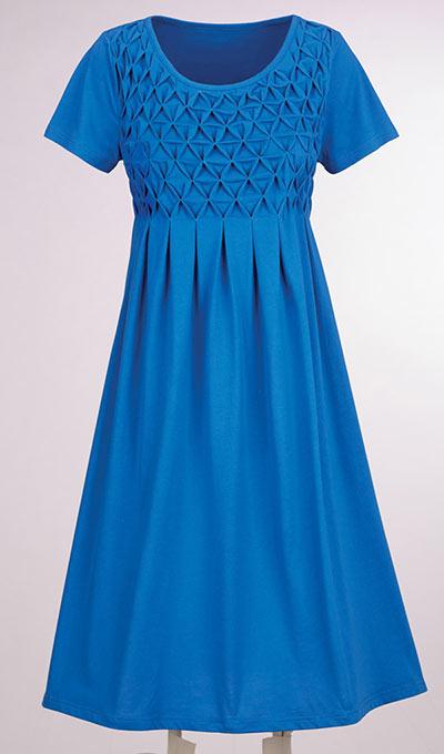 Delightful Diamond Smocked Dress