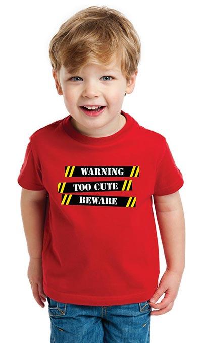 Warning! Toddler Tee