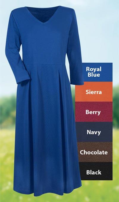 Effortless! The Easy Dress