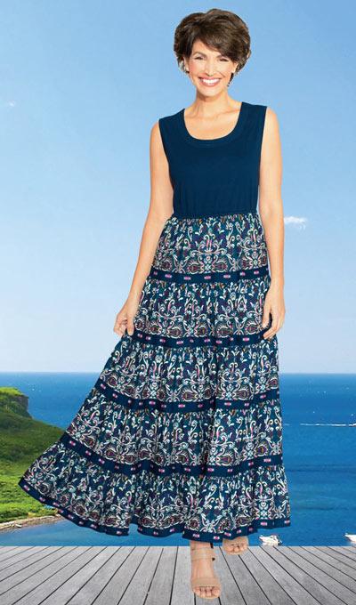 Fiesta Tiered Dress