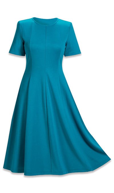 Flattering Ponte Dress
