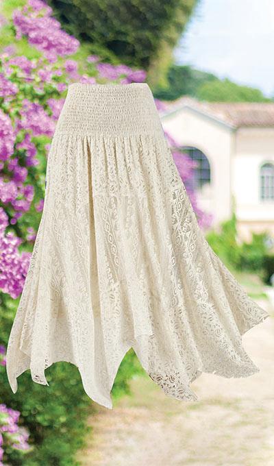 Stylish Lace Skirt