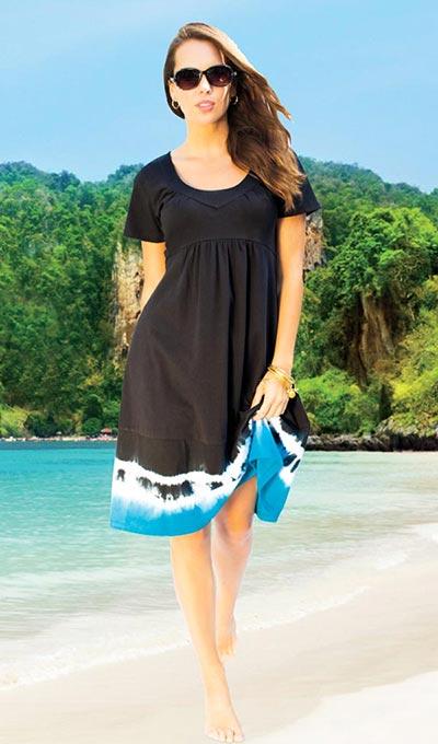 Delightful Dip-Dyed Dress